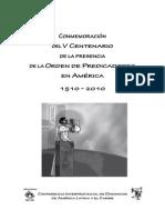 V Centenario de la presencia de la OP en America latina.pdf