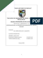 CONSTANTE DE SOLUBILIDAD DEL  ACETATO DE PLATA.doc