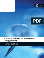 Kant's Critique of Aesthetic Judgement--Reader's Guide