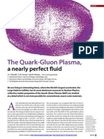 The Quark-gluon Plasma, A Nearly Perfect Fluid