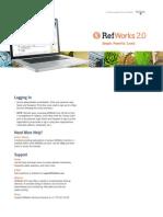 RefWorks QSG en Dec11