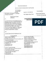 Wayne County Documents on the failed jail construction