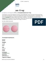 RX 554 Pill - Clorazepate 15 Mg