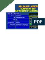 Aplikasi LHPKPD Kurikulum 2013- SMP