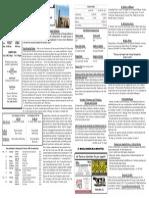 10/26/14 Bulletin