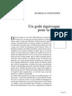Stengers Un gout univoque pour la vérité.pdf