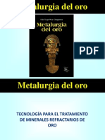 CONFERENCIA Metalurgia del Oro -  2014 CUSCO.ppt
