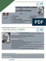 Teori Belajar Bruner-Skinner Kelompok 2