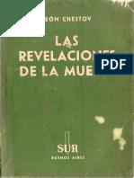 Chestov, Lev - Las revelaciones de la muerte.pdf