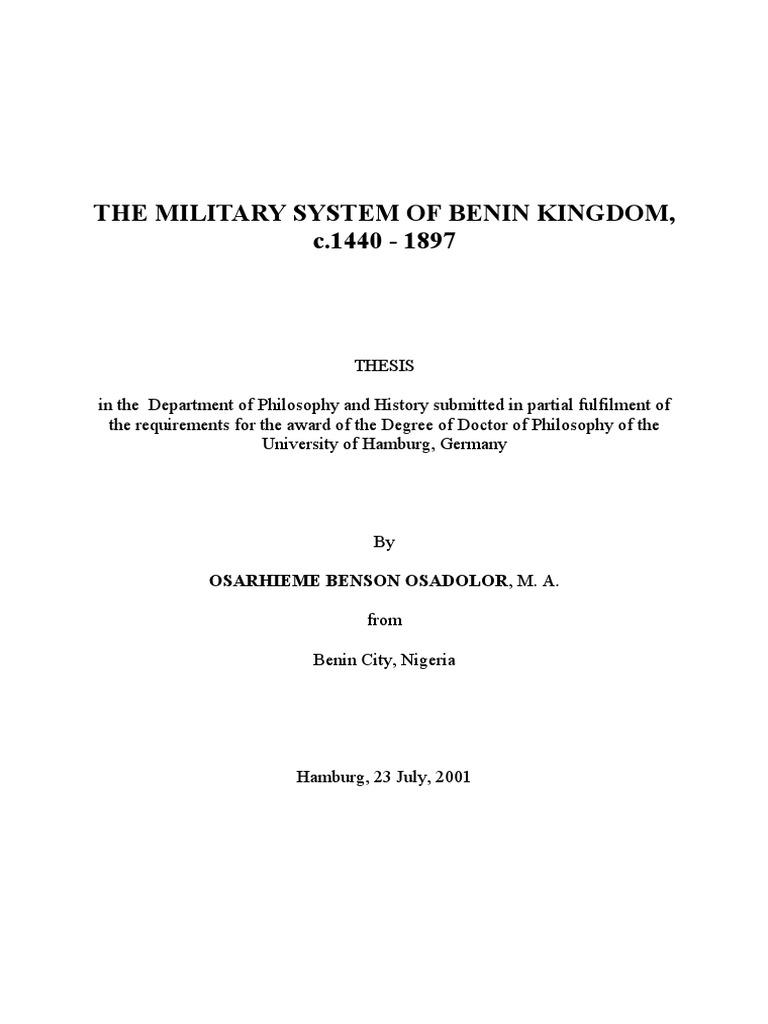 Benin Warfare  b58eba4962604