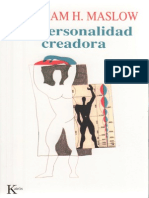 Maslow La personalidad Creadora.pdf