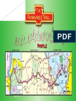 Panhandle Trail Map 24x48