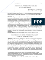 A IMPORTANCA DA INTERDISCIPLINARIDADE NO ENSINO SUPERIOR.pdf