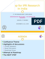 Roadmap for IPR Research in India