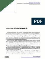 Politizaci�n de las Ciencias Sociales en la Argentina. Incidencia de la revista Antropolog�a 3et:. Mundo 1868-1973