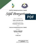 sijil penyertaanx