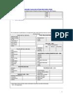 PQR Form (Welding)