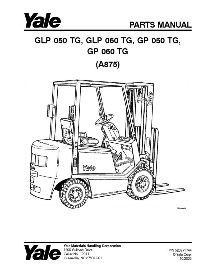 manual yale pdf rh scribd com yale forklift parts manual yale forklift parts manual free