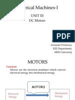 Electrical Machines-I III