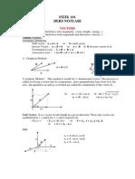 Vectors fundamentals CBSE