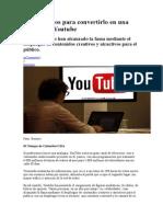 Diez consejos para convertirlo en una estrella de Youtube.doc