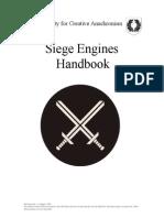 Siege Engines Handbook