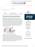 Ultrasonic Additive Manufacturing