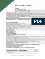 checklist, clinica.odt
