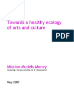 Towards a Healthy Ecology of Arts and Culture