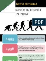 internet development in india