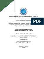 TFG - ''Diseño de un Sistema de Control de Gestion para la Planificacion y Control de Inventarios aplicando el Metodo ABC y 5S's de una Importadora de Electrodomesticos''.pdf