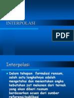 Interpolasi dan Pembacaan Tabel.ppt