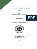 Skripsi Profil Melasma - Silvester Pangalinan