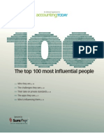 Influence People in Accounting