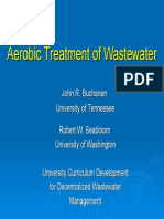 Part 1 Aerobic Treatment of Wastewater