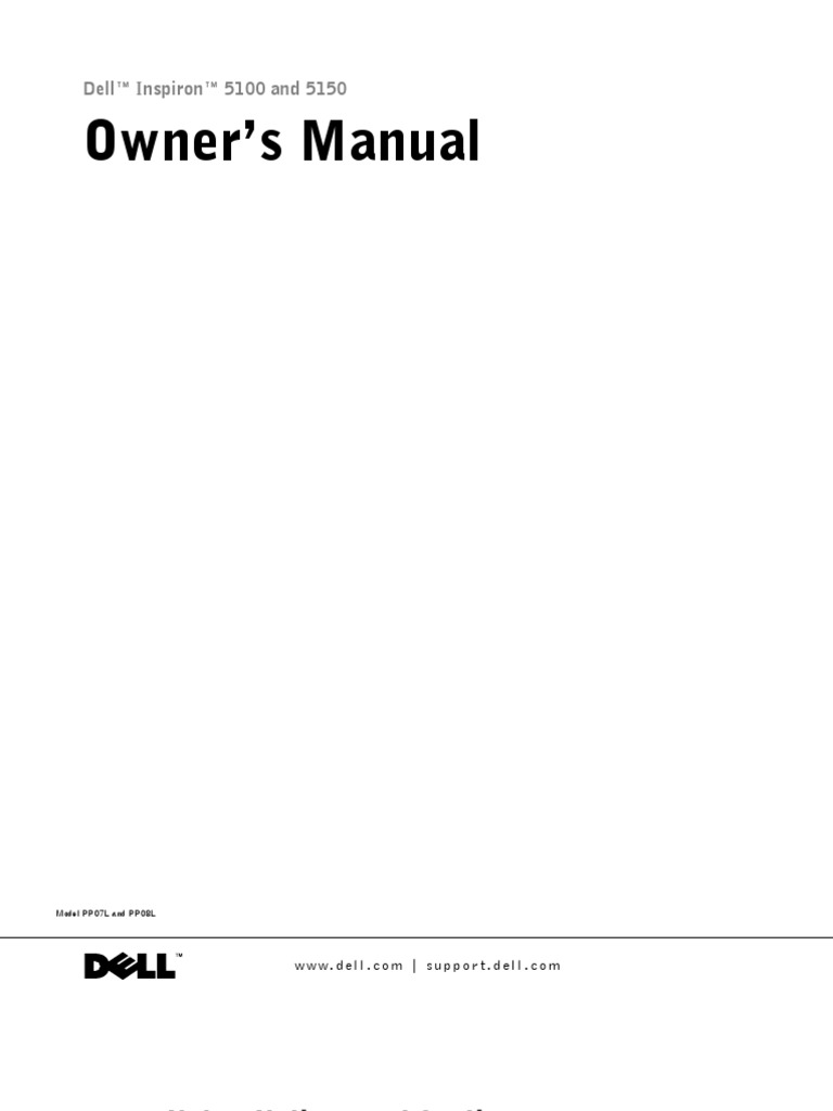 Dell Inspiron i5100-Om Laptop Service Manual | Electrical Connector |  Electrostatic Discharge