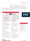 2009 The Access Group Payroll and Hr Factsheet