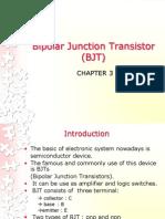 3.Bipolar Junction Transistor (BJT)
