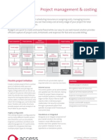 2009 The Access Group Project Management and Costing Factsheet