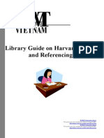 Harvard Citing and Referencing With Cover Page