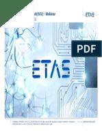 ETAS Webinar ECU Basics