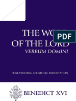Word of the Lord (Verbum Domini), The - Joseph Ratzinger -Pope Benedict XVI.epub