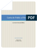 Carta de Pablo a Filemon