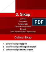 5 Sikap