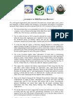 23Dec09 Joint Statement on 2010 Election Boycott-Rohingya Group