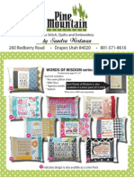 Pine Mountain Cross Stitch Catalog Sept 2014