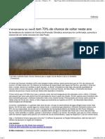 Fenômeno El Niño tem 70% de chance de voltar neste ano - Ciência - Notícia - VEJA.pdf
