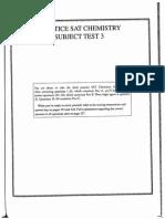 SAT II Practice Subject Test 3-Questions