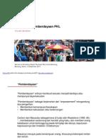 Pemberdayaan & Penataan Pedagang Kaki Lima (PKL)_Hizrah Muchtar