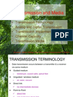 Data Transmission and Media